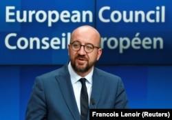 Шарль Мішель, нинішній прем'єр-міністр Бельгії, на саміті ЄС був призначений очолювати Європейську раду, Брюссель, 2 липня 2019 року