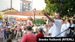 Sergej Trifunović se obraća Kragujevčanima