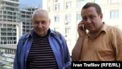 Глеб Павловский и Айдер Муждабаев в московском бюро РС