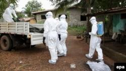 سازمان ملل میگوید برای مبارزه با ابولا در غرب آفریقا به ۶۰۰ میلیون دلار بودجه نیاز دارد