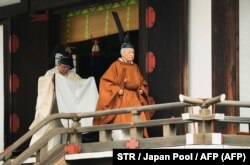 واپسین مراسم رسمی امپراتور: آکیهیتو در حال ترک اقامتگاه کاشیکودوکورو