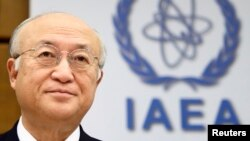 International Atomic Energy Agency (IAEA) Director-General Yukiya Amano says Iran has been cooperative with the IAEA in implementing an interim deal curbing its nuclear program.