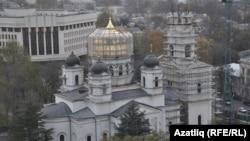 Александр Невский кафедраль соборы Кырым югары шурасы каршында төзелә