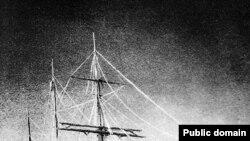 """Шхуна """"Заря"""", на которой экспедиция барона Толля отправилась на поиски Земли Санникова"""