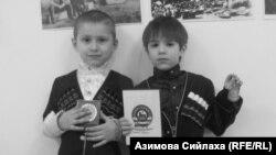 Чеченські діти на виставці у Відні, присвяченій пам'яті жертв сталінської депортації