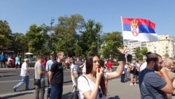 Protest As New Serbian Parliament Sworn In