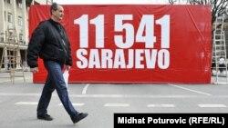 Obilježavanje 20. godišnjice od opsade Sarajeva