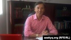 Оппозиционный политик Болат Абилов. Алматы, 19 сентября 2013 года.