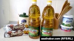 """Магазины Ашхабада осуществляют продажу хлопкового масла """"Ахал"""" вместе с другим товаром """"в нагрузку"""""""