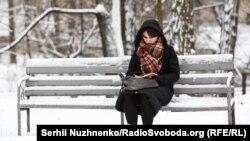 Снег в Киеве, иллюстрационное фото