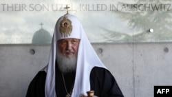 Орыс православие шіркеуінің патриархы Кирилл.12 қараша 2012 жыл.
