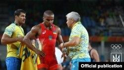 Жан Беленюк під час Олімпіали в Ріо
