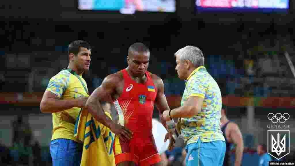 Український спортсмен Жан Беленюк став срібним призером із греко-римської боротьби у вазі до 85 кілограмів на Олімпійських іграх у Ріо-де-Жанейро