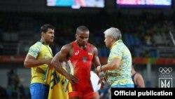 Жан Беленюк на Олімпіаді-2016
