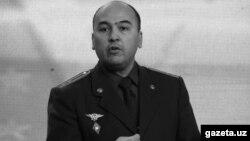 Дилшод Акрамов, Өзбекстан Ішкі істер министрлігі қоғамдық тәртіп және күзет қызметінің басшысы.