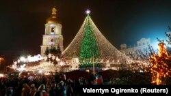 جشن سال نو در اوکراین
