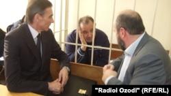 Абдумалік Абдуллоджонов у залі суду