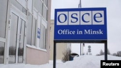 Belarus -- The building with the office of the OSCE in Minsk, 01Dec2010