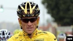 """Лэнс Армстронг на старте очередной """"Большой петли"""", 2005 год"""