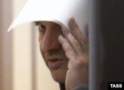 Григорий Пирумов в зале Лефортовского суда Москвы