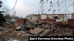 Наслідки обстрілу на Донбасі, архівне фото