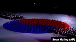 Ceremonia e hapjes së Olimpiadës në Pjongçang. Shkurt, 2008.