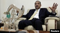 Libya's National Oil Corporation Chairman Shokri Ghanem