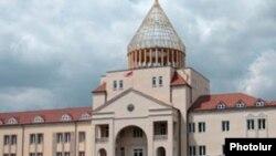 Здание Национального Собрания Нагорного Карабаха в Степанакерте