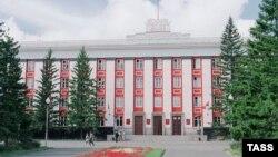 Здание администрации Алтайского края в Барнауле
