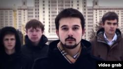 Фрагмент видеообращения студентов