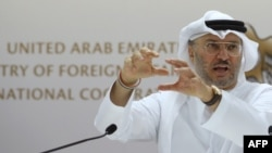 File photo - Emirati Foreign Minister Anwar Gargash.