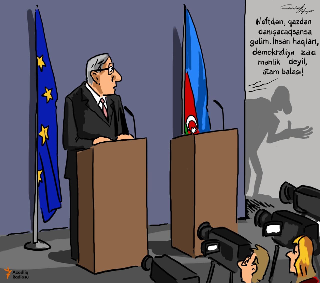 Картинки по запросу ilham aliyev karikatura