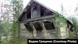 Здание штрафного изолятора в одном из лагпунктов