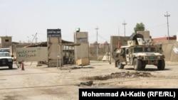 قوات عراقية في معبر ربيعة على الحدود مع سوريا
