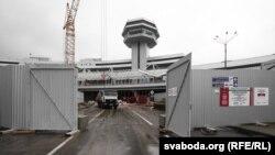Менскі аэрапорт: набліжацца забаронена