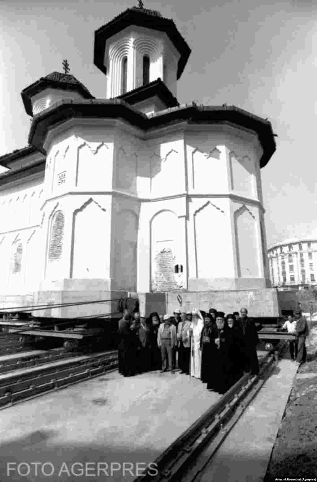 Olari Orthodox Church was saved in Bucharest, but 24 other churches were bulldozed by communist authorities in the Romanian capital.
