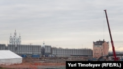 "Здесь на будет ""Охта-центра"""