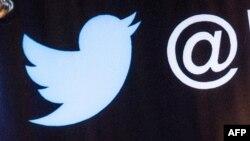 """""""Twitter"""" sosial ulgamynyň logotipi"""