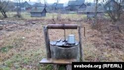 Калодзеж на крыніцы пры Студзенцы