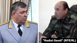 Мансурджон Умаров( слева) и Изатулло Шарифзода