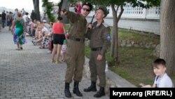 Казачі патрулі в Севастополі, архівне фото