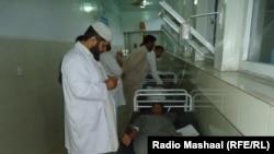 Поранені через землетрус у шпиталі Джалалабада, Афганістан, 26 жовтня 2016