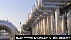 تاسیسات گاز ترکمنستان