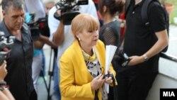 Обвинителката Вилма Русковска која го води случајот Рекет во кој осомничена е и специјалната обвинителка Катица Јанева