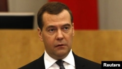 Former Russian President and current Prime Minister Dmitry Medvedev