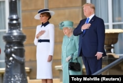 'Topao doček za američkog predsjednika', napisao je BBC