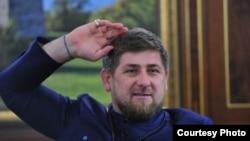 Главы Чечни Рамзан Кадыров.