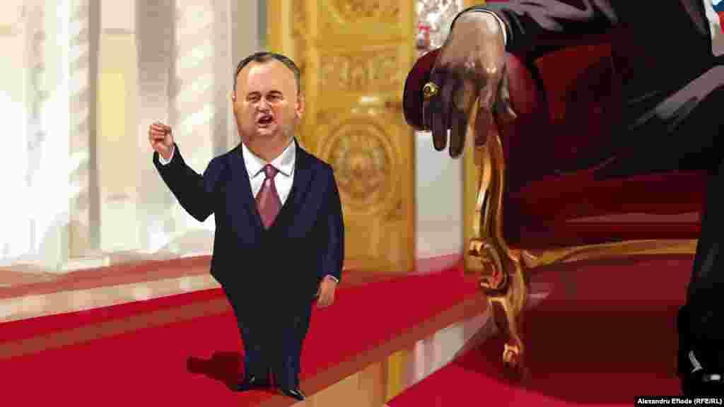 Уважаемый Владимир Владимирович, сегодня исторический день… Мы понимаем, что есть Соглашение об ассоциации с Европейским союзом. Я считаю, что это соглашение для Молдовы никаких плюсов не дало. То есть, мы ничего не получили… (Январь 2016).