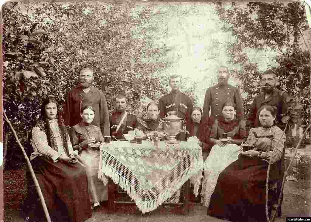 Семья Коломиец,1893 год