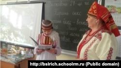 Архивное фото. Урок эрзянского языка